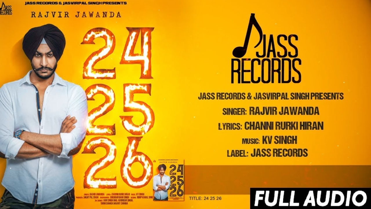 24 25 26 (Title) Lyrics - Rajvir Jawanda