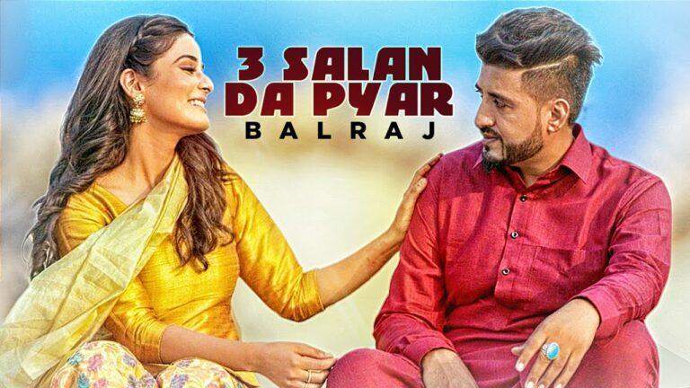 3 Salan Da Pyar (Title) Lyrics - Balraj