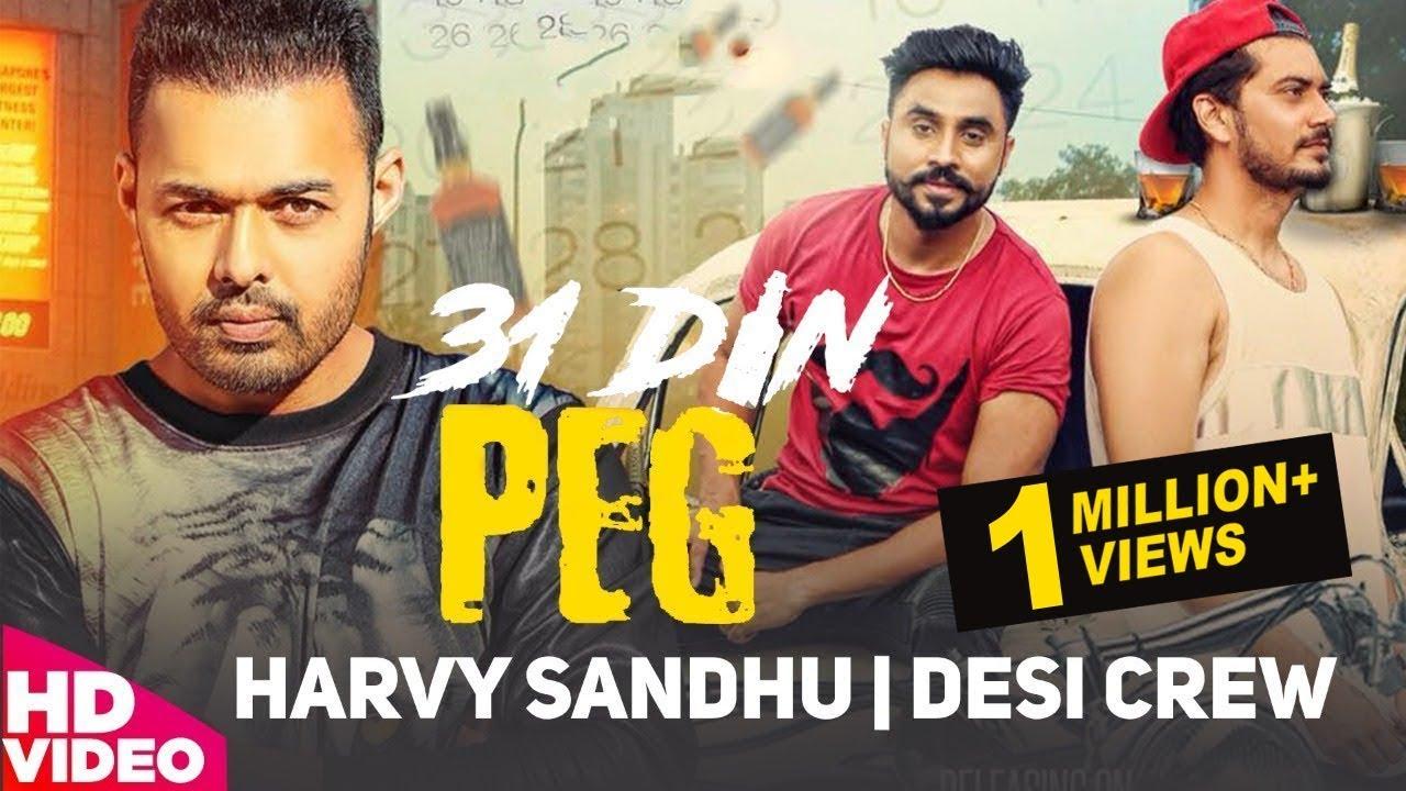 31 Din Peg (Title) Lyrics - Harvy Sandhu