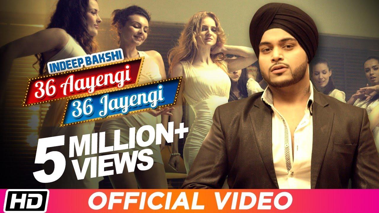 36 Aayengi 36 Jayengi (Title) Lyrics - Indeep Bakshi, Sony B