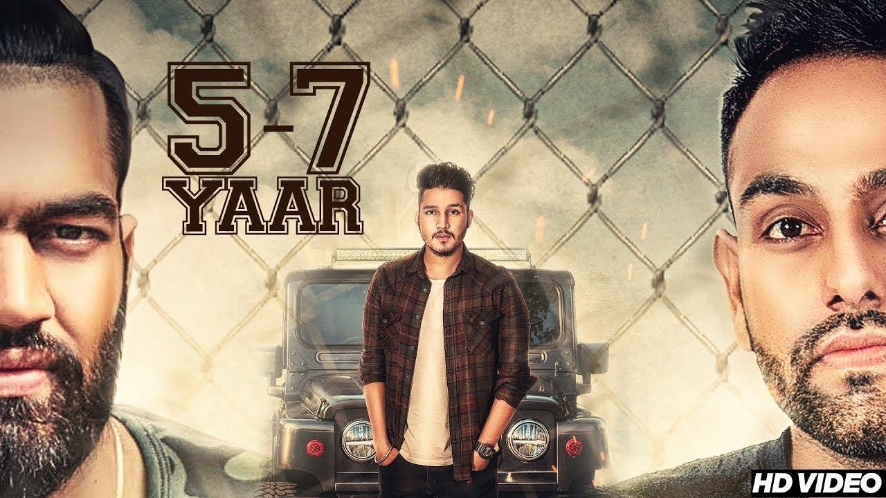 5-7 Yaar (Title) Lyrics - Karan Randhawa