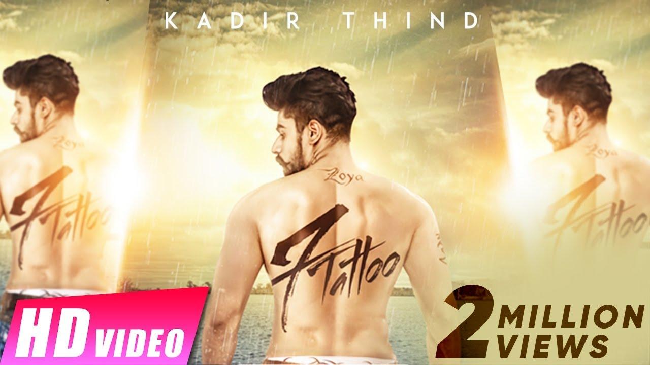 7 Tattoo (Title) Lyrics - Kadir Thind