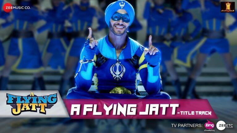 A Flying Jatt (Title) Lyrics - Mansheel Gujral, Raftaar, Tanishka Sanghvi