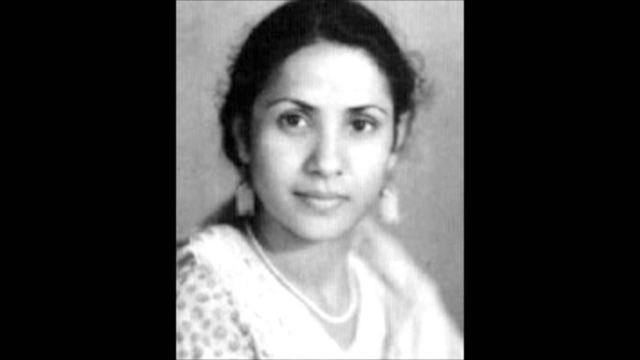 Aaj Mohe Saajan Ghar Jaana Lyrics - Khursheed Bano