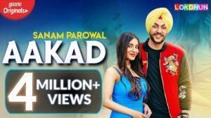 Aakad (Title) Lyrics - Sanam Parowal