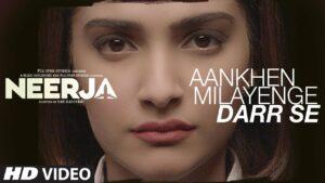 Aankhein Milayenge Darr Se Lyrics - K. Mohan, Neha Bhasin
