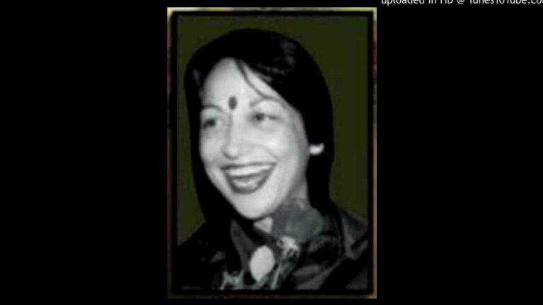 Aankon Se Maine Pee Hai Lyrics - Lata Mangeshkar