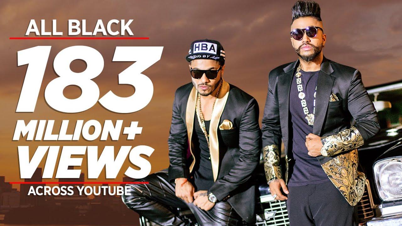 All Black (Title) Lyrics - Raftaar, Sukhe Muzical Doctorz