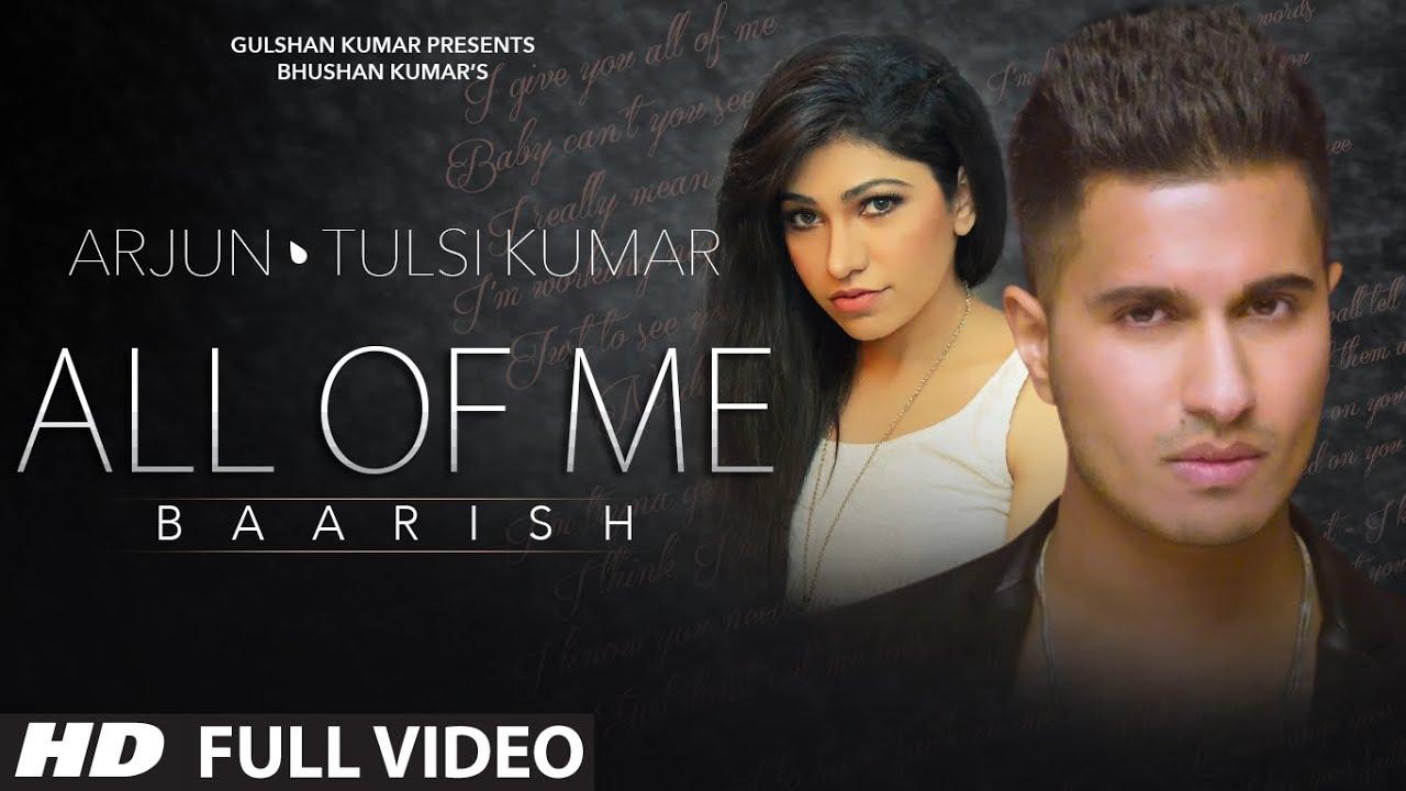 All Of Me Lyrics - Arjun Coomaraswamy, Tulsi Kumar