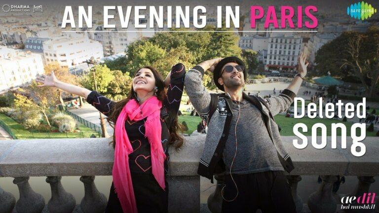 An Evening In Paris Lyrics - Mohammed Rafi