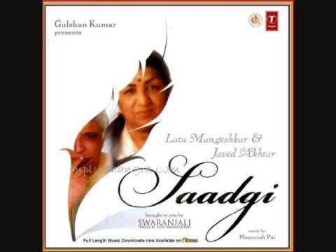 Andhe Khawabon Ko Lyrics - Lata Mangeshkar