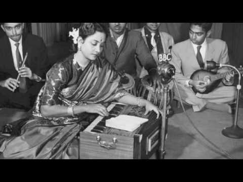 Ankhiyo Se Neend Chura Ke Lyrics - Geeta Ghosh Roy Chowdhuri (Geeta Dutt)