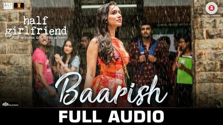 Baarish Lyrics - Ash King, Shashaa Tirupati