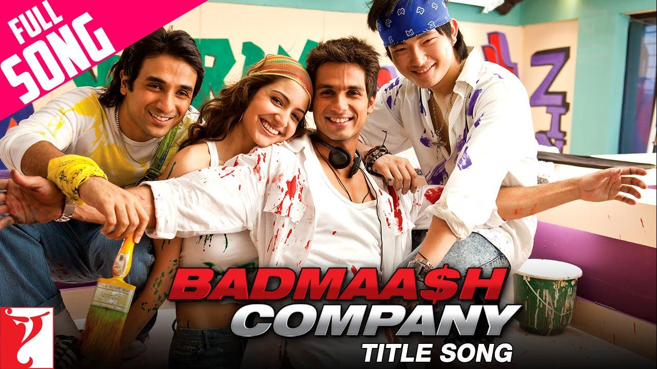 Badmaash Company (Title) Lyrics - Benny Dayal
