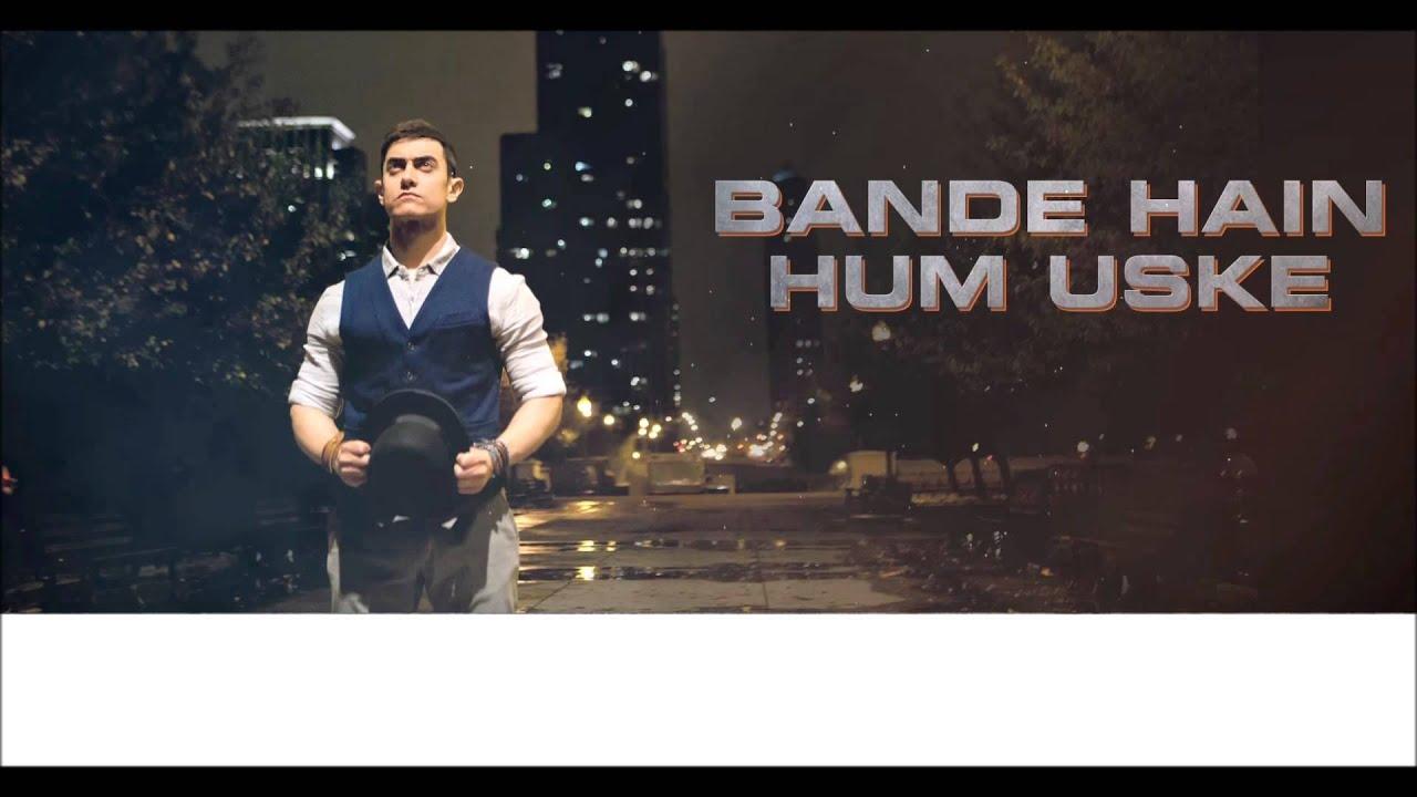 Bande Hain Hum Uske Lyrics - Anish Sharma, Shivam Mahadevan
