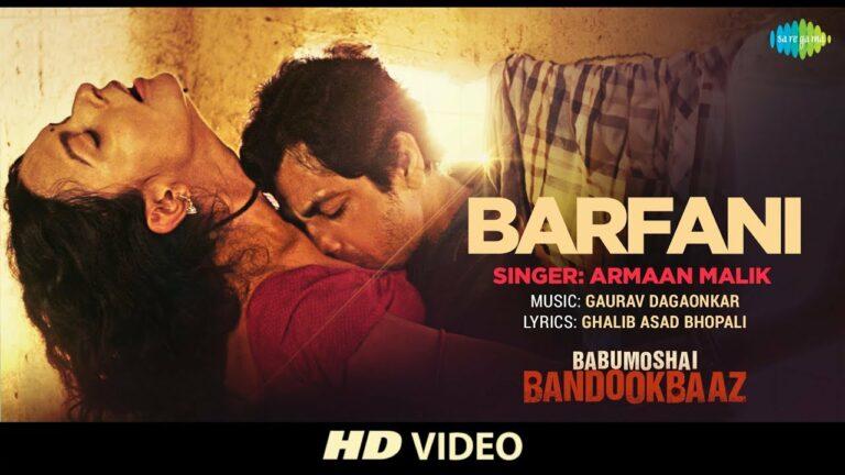 Barfani Lyrics - Armaan Malik