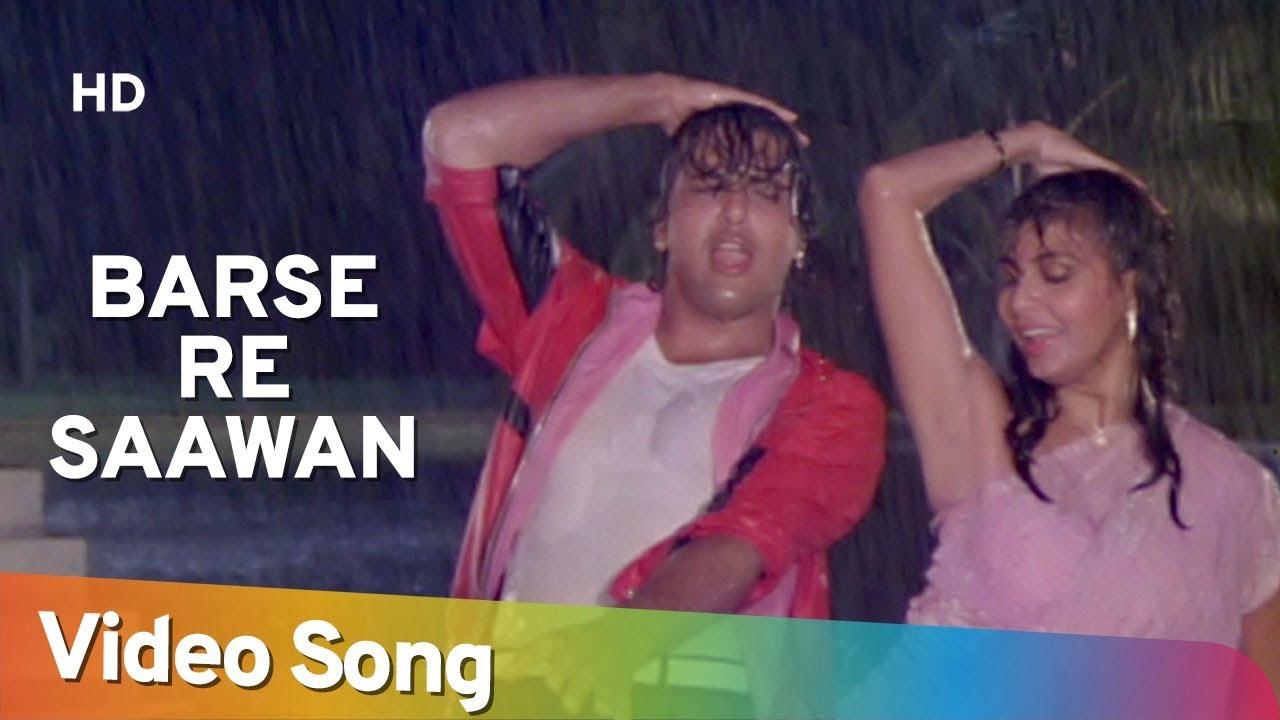 Barse Re Sawan Lyrics - Mohammed Aziz, Sadhana Sargam