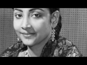 Bich Ghunghat Kaise Kah Doon Lyrics - Geeta Ghosh Roy Chowdhuri (Geeta Dutt)