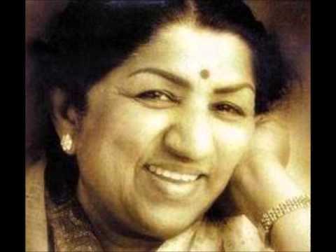 Chaand Dhalne Laga Lyrics - Lata Mangeshkar