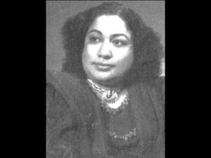 Chaandni Raaton Mein Lyrics - Zohrabai Ambalewali