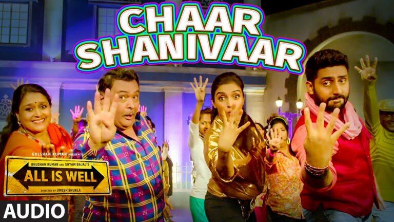 Chaar Shanivaar Lyrics - Amaal Mallik, Badshah, Vishal Dadlani