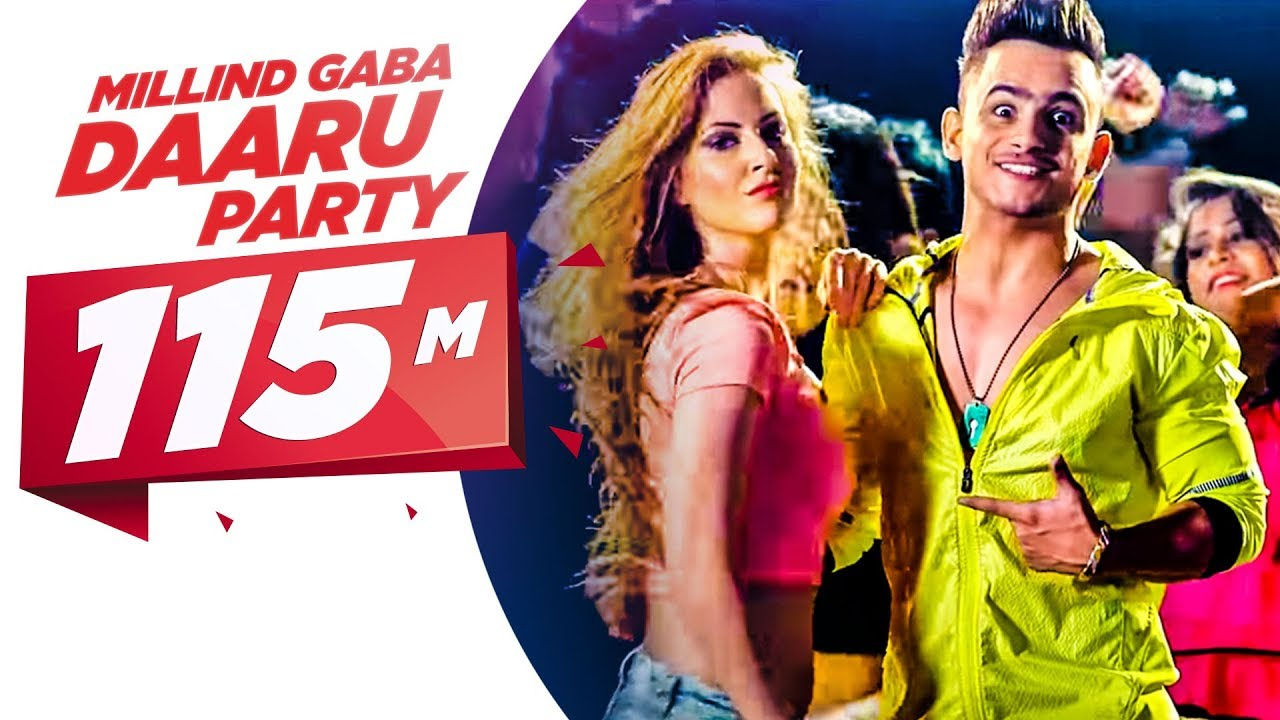 Daaru Party (Title) Lyrics - Millind Gaba (MG)