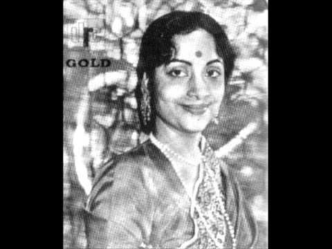 Dar Dar Khoje Lyrics - Geeta Ghosh Roy Chowdhuri (Geeta Dutt)