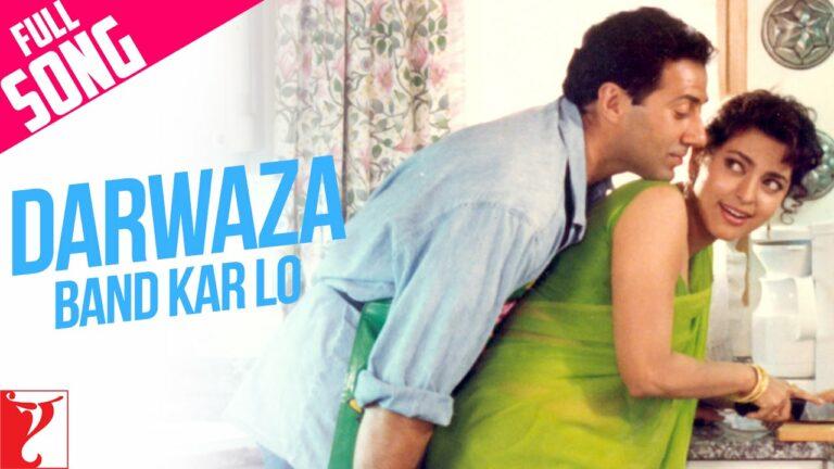 Darwaza Band Karlo Lyrics - Abhijeet Bhattacharya, Lata Mangeshkar