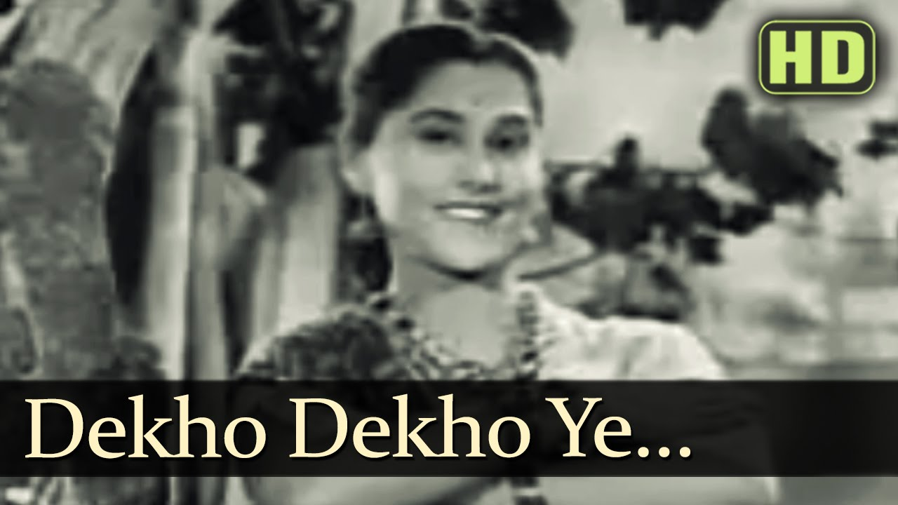 Dekho Dekho Gadbad Ghotala Lyrics - Ramchandra Narhar Chitalkar (C. Ramchandra), Shamshad Begum