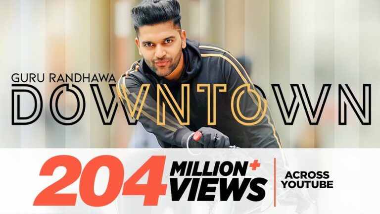 Downtown (Title) Lyrics - Guru Randhawa