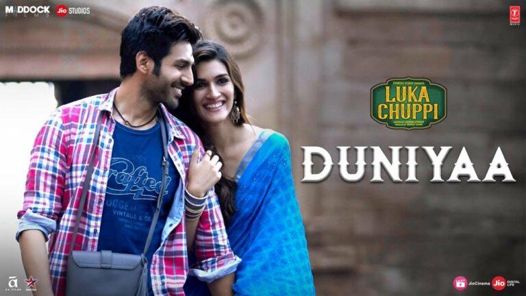 Duniyaa Lyrics - Akhil, Dhvani Bhanushali