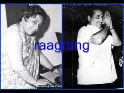 Ek Abr E Siyaah Chhaaya Lyrics - Mohammed Rafi, Shamshad Begum