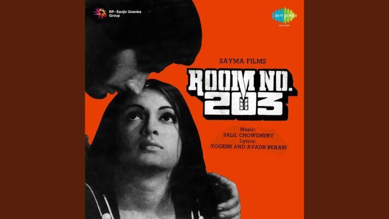 Ek Haseena Chali Sadak Pe Lyrics - Mahendra Kapoor