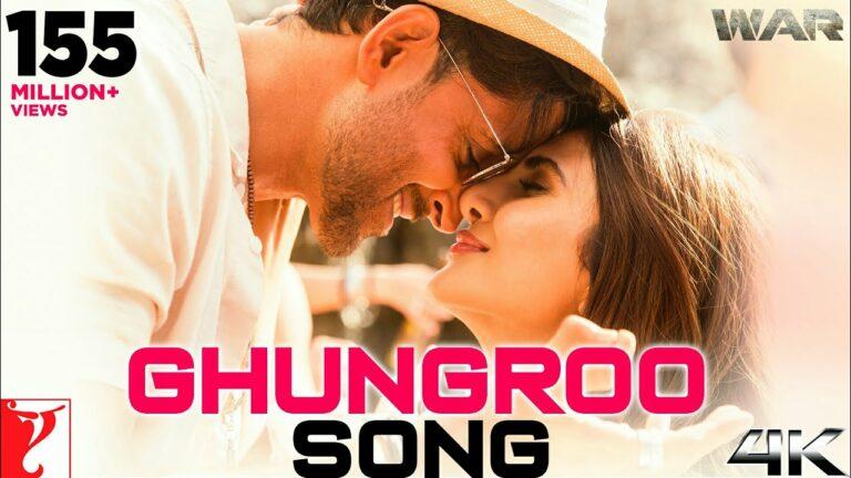 Ghungroo Lyrics - Arijit Singh, Shilpa Rao