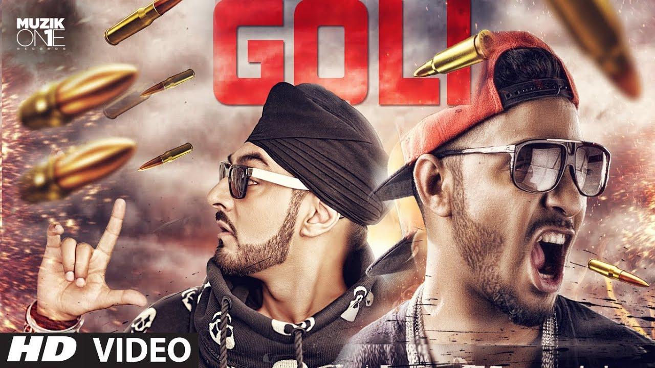 Goli (Title) Lyrics - Manj Musik, Raftaar