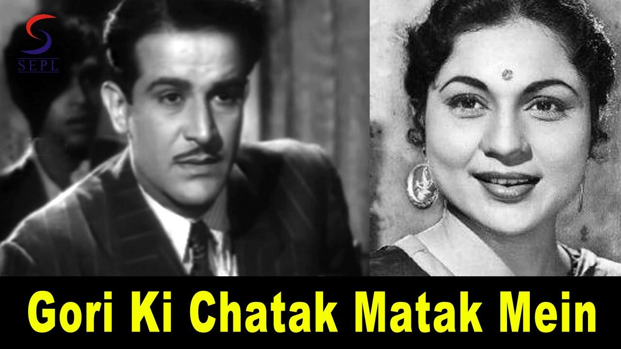 Gori Ki Chatak Matak Lyrics - G. M. Durrani, Shamshad Begum