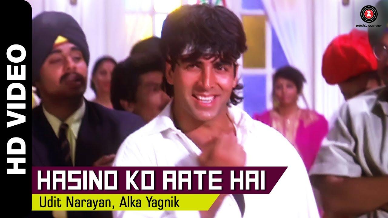 Hasino Ko Aate Hai Lyrics - Alka Yagnik, Udit Narayan