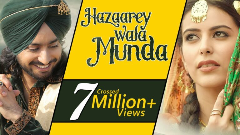 Hazaarey Wala Munda (Title) Lyrics - Satinder Sartaaj