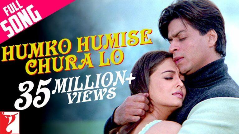 Humko Humise Chura Lo Lyrics - Lata Mangeshkar, Udit Narayan