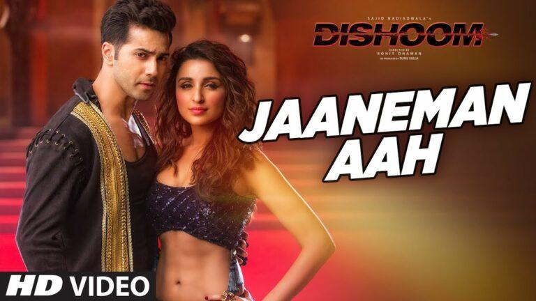 Jaaneman Aah Lyrics - Aman Trikha, Antara Mitra
