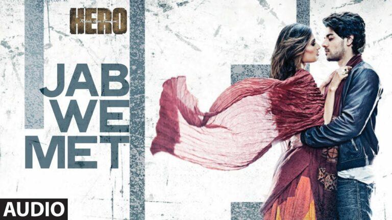 Jab We Met Lyrics - Benny Dayal, Shalmali Kholgade