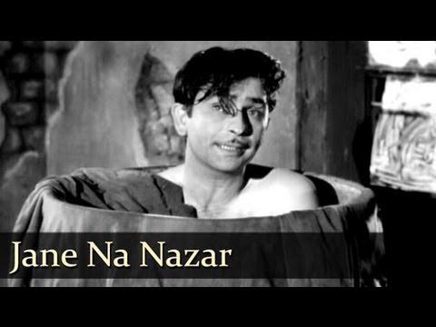 Jane Na Nazar Pehchane Lyrics - Lata Mangeshkar, Mukesh Chand Mathur (Mukesh)