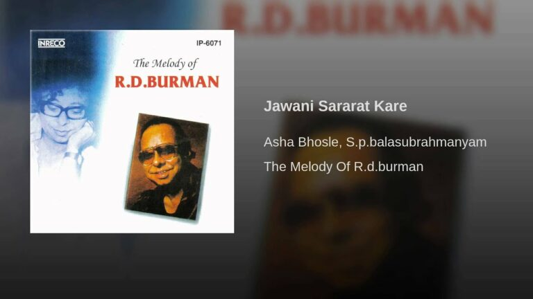 Jawaani Sharaarat Kare Lyrics - Asha Bhosle, S. P. Balasubrahmanyam