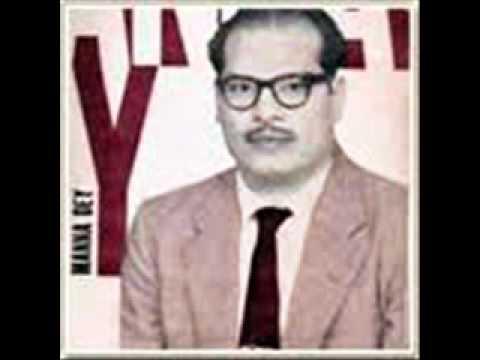 Jhan Jhan Payaliya Baje Lyrics - Prabodh Chandra Dey (Manna Dey)