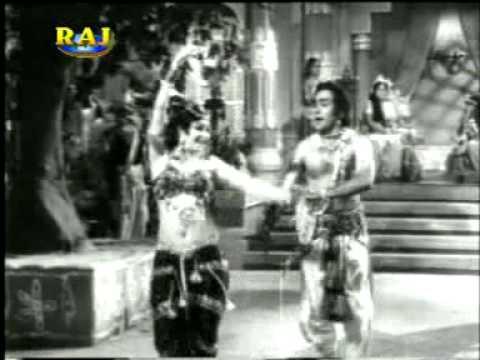 Jhanan Jhanan Jhanke Payal Lyrics - Prabodh Chandra Dey (Manna Dey), Suman Kalyanpur