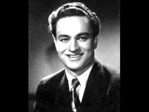 Jhoomta Muskurata Chal Lyrics - Mukesh Chand Mathur (Mukesh)