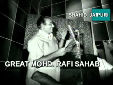 Jinko Tu Bhool Gaya Lyrics - Mohammed Rafi