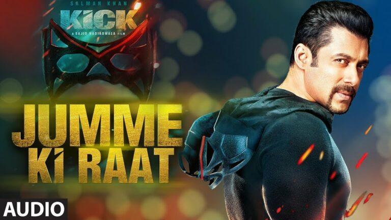 Jumme Ki Raat Lyrics - Mika Singh, Palak Muchhal