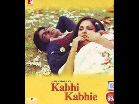 Kabhi Kabhi Mere Dil Lyrics - Amitabh Bachchan
