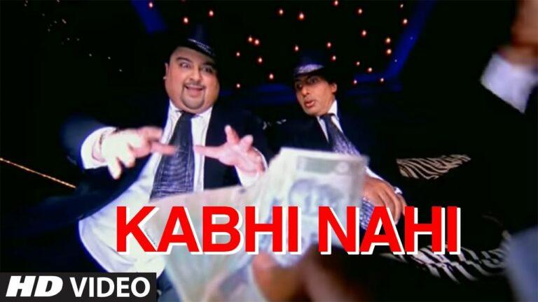 Kabhi Nahin Lyrics - Adnan Sami, Amitabh Bachchan